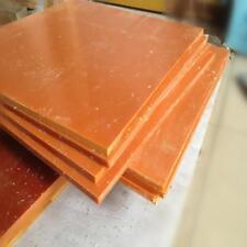 5pcs 100x100x8mm Bakelite Phenolic Flat Plate Sheet Insulation Board Mold Plate