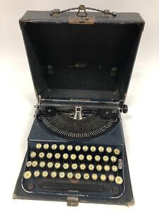 VTG January 1928 Remington Portable No. 2 Suitcase Typewriter with Case NP86951