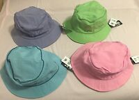 Fubu Green/ Blue/ Pink/ Purple One Size Protective Nylon Washable Sun Hats