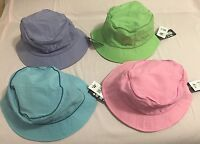 Fubu Green/ Blue/ Pink/ Purple One Size Protective Nylon Washable Sun Hats
