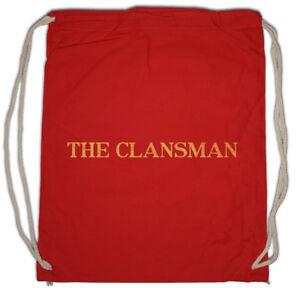 The Clansman Drawstring Bag Still Pub Fun Game Symbol Bar Logo ... 9ae79f4d3f90