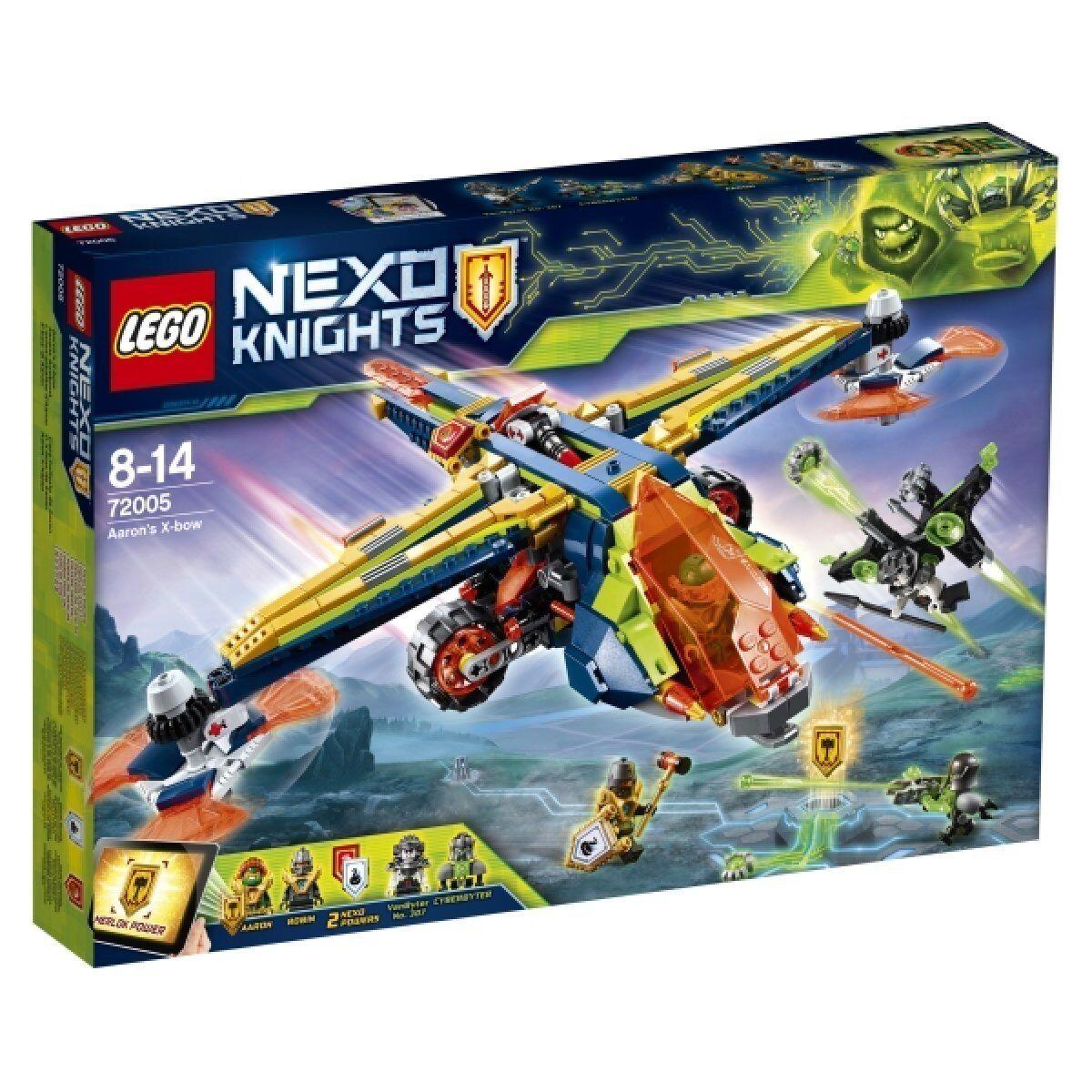 LEGO 72005 NEXO KNIGHTS Aarons Armbrust NEU OVP