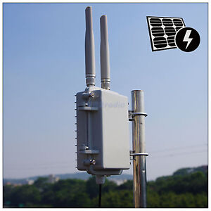300Mbps-600mW-Outdoor-wifi-AP-range-extender-mini-Metal-shell-Poe-2-5dBi-Antenna