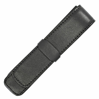 BROWN LEATHER * CROSS Autocross Single Pen Case
