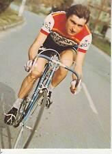 CYCLISME carte cycliste GILBERT CHAUMAZ équipe GITANE CAMPAGNOLO