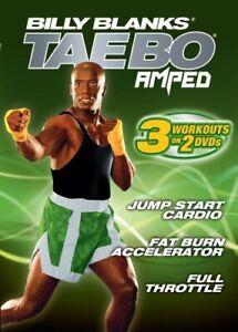 Billy Blanks Tae Bo AMPED 3 Workouts Set 2-DVD-Set