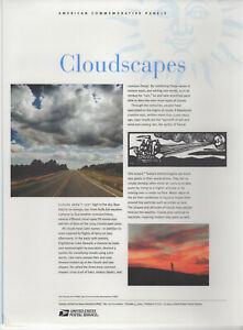 SSS-USPS-2004-American-Commemorative-Panel-722-37c-Cloudscapes-Sc-3878