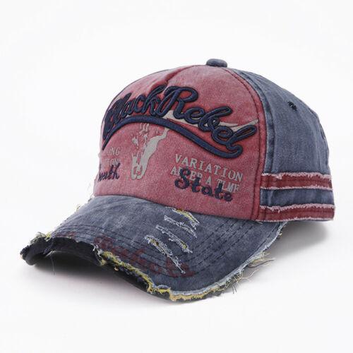 Men Women Personalised Hip-Hop Baseball Cap Street Dance Hats Adjustable Unisex
