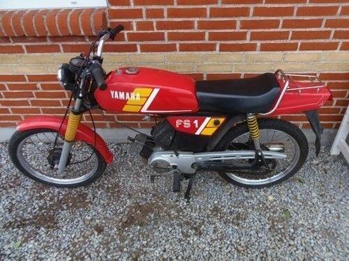 Yamaha FS1 2gears, 1988, Rød