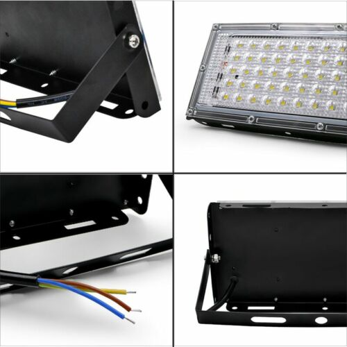LED Flood Light 50W AC 110//220V Spotlight Outdoor Garden Lighting Led Reflector