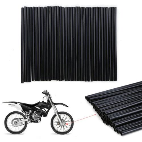 BLACK KXF250 FOR KAWASAKI KX250F FRONT OR REAR WHEEL SPOKE WRAPS COVERS