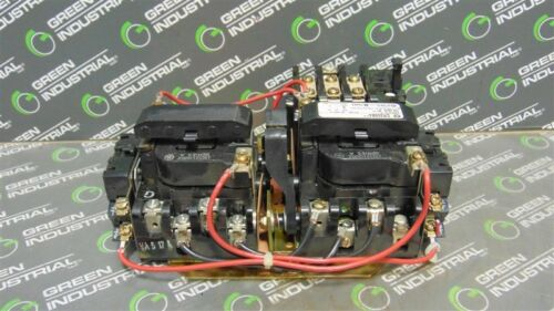 USED General Electric CR309B4** Reversing Motor Starter NEMA Size 0 120V Coil