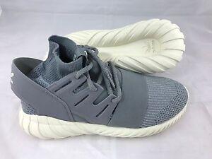 Adidas-Originals-Tubular-Doom-Primeknit-Herren-Schuhe-Sneaker-Grau-UVP-150