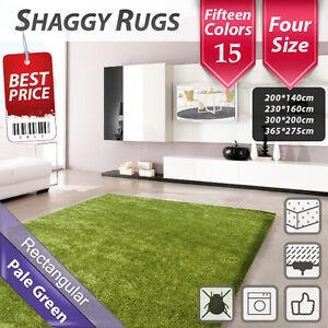 Large Shag Shaggy Floor Confetti Rug