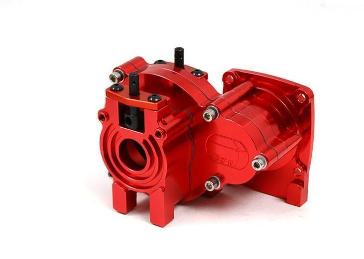 CNC  tuttioy Center diff gear scatola transmission for LOSI 5IVE-T 1 5 rc auto km 5t  di moda