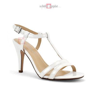 New Women Ankle Strap Open Toe Mid High Heel Dress Sandal Shoe Classified Begin