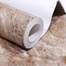 Brown Granite Marble Countertop Self Adhesive Peel And Stick Vinyl Floor  Tile