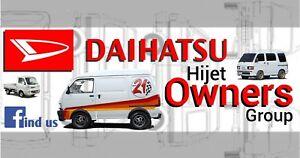 Daihatsu Hijet - Owners Group stickers