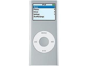 Apple Ipod Nano 2nd Generation Silver 2 Gb For Sale Online Ebay