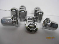 10 Lug Nuts True Ray Uni Lug Wheels 7/16-20 10 Center Chrome Washers Chevy