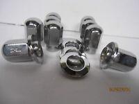 10 Lug Nuts True Ray Uni Lug Wheels 7/16-20 10 Center Chrome Washers Chevy