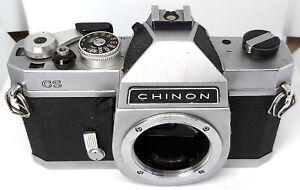 Early anni 1970 CHINON CS M42 Custodia Fotocamera Macchina Fotografica Con
