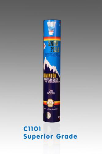 BWF approuvé 10 tubes Snowpeak volants Superior Grade C1101