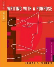 The New Writing With A Purpose: Brief Edition, Fourteenth Edition by Trimmer, Jo