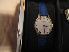 Authentic vintage Cartier watch 14k solid gold case