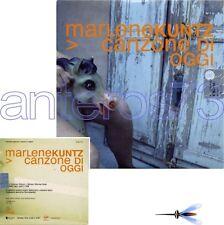 "MARLENE KUNTZ ""CANZONE DI OGGI"" RARO CDsingolo PROMO"