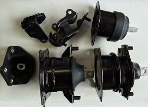 Image Is Loading 6pcset Motor Mounts Fit Auto Transmission Honda Accord