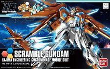 BANDAI GUNPLA BUILD FIGHTER HGBF 1/144 Scramble Gundam Plastic Model