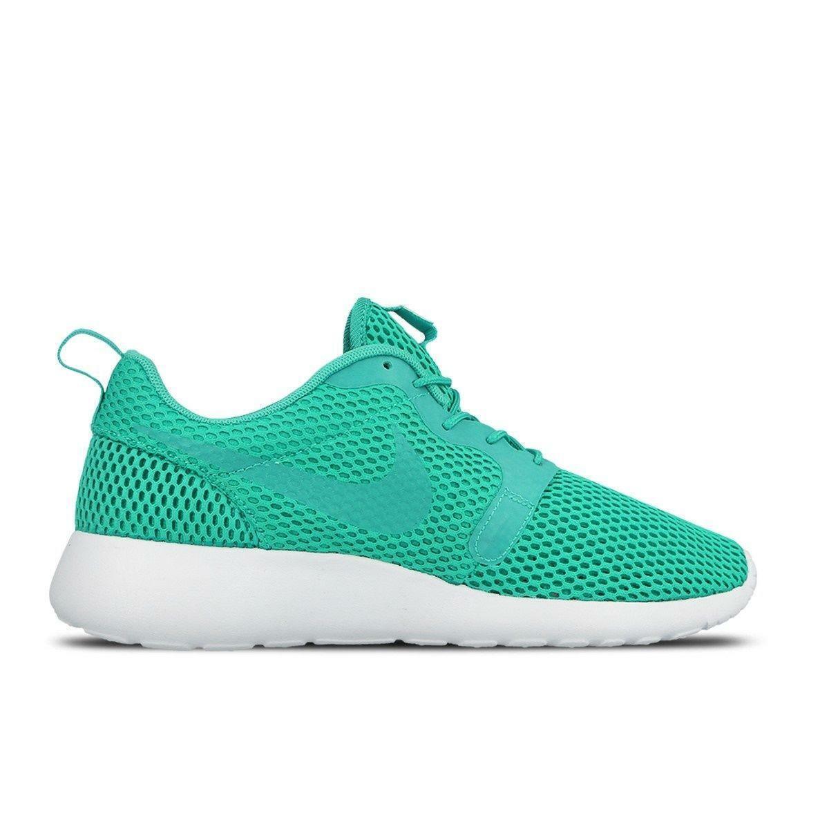 Herren Nike Roshe One Hyp Br Durchsichtig Jade Netz Turnschuhe 833125300