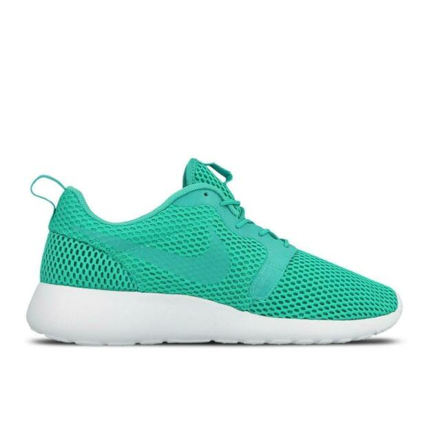 12d9bb8e92d0 Nike Men s Roshe One HYP BR Running Shoes SNEAKERS Clear Jade White ...