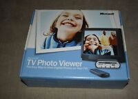 Unused Microsoft Tv Photo Viewer - Digital Photos On Your Tv Sealed