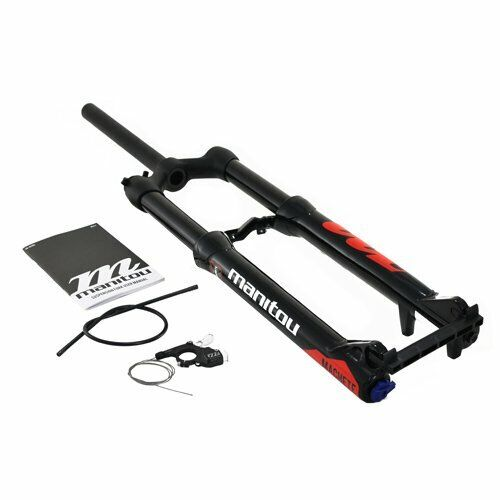 Fast Shipping Manitou MACHETE Fork 29  120mm Remote Lockout Air QR 9mm Glossy BK