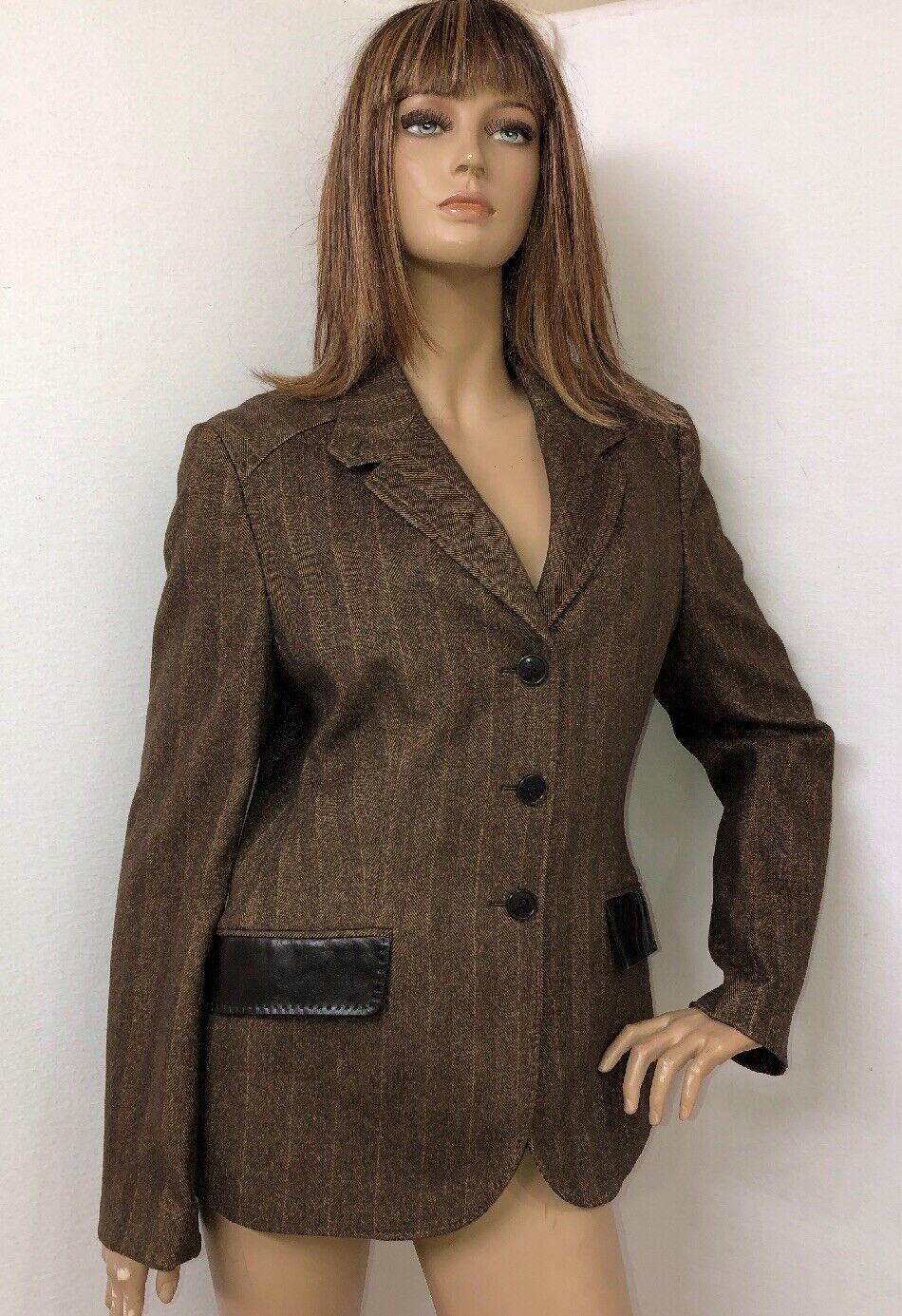 Lujo chaqueta blazer para mujer BRIONI  Seda Cachemira Talla 48 EE. UU. 12  comprar barato