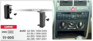 a4 b5 8 L 1999-2 2000 1998-2005 8z 50011 1-din Façade Radio Pour Audi a2 a3