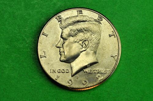 1992-P  BU  Mint State Kennedy US Half Dollar Coin