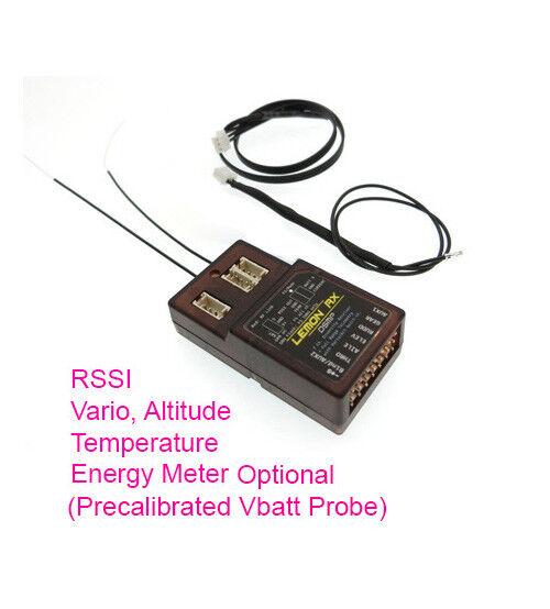 Lemon Rx DSMX 7 Channel Full Telemetry Diversity Receiver + Vario + Altitude