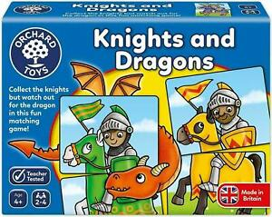 Orchard-Toys-Knights-And-Dragons-Matching-Card-Game-Kids-Educational-Toy