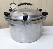 All American 915 15 Quart Steam Pressure Sterilizer Canner Missing Weight