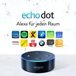 amazon echo dot sprachgesteuerter lautsprecher 2 gen. Black Bedroom Furniture Sets. Home Design Ideas