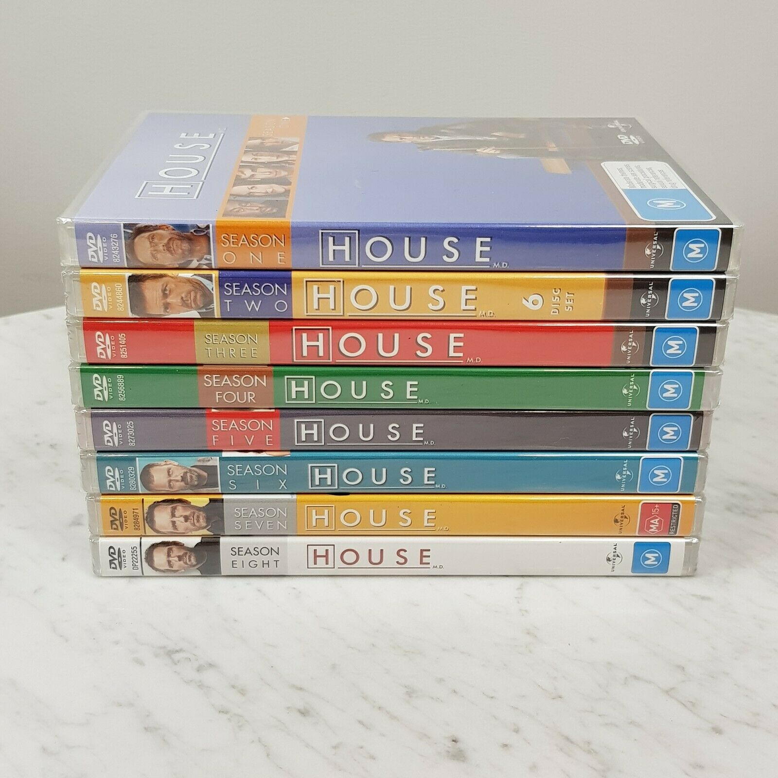 The House Of Sin Dvd house m.d the complete series seasons 1 2 3 4 5 6 7 8 dvd set r4 new +  sealed