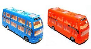 Kinder Spielzeug Doppeldecker Reisebus Bus Auto LED Licht & Musik Selbstfahrend
