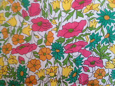 POPPY DAISY by LIBERTY on TAORMINA VOILE, COTTON & SILK, 1.00 METRE