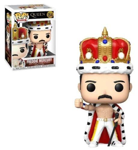 FREDDIE MERCURY KING FUNKO POP ROCKS THE CROWN #184 PRE ORDER