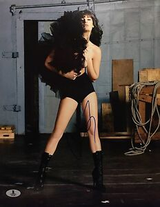 Lea Michele Signed 11x14 Photo *American Actress, Singer Beckett B12288