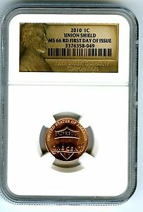 2019 D Lincoln SHIELD Cent 1c NGC MS 66 RD Lincoln Label