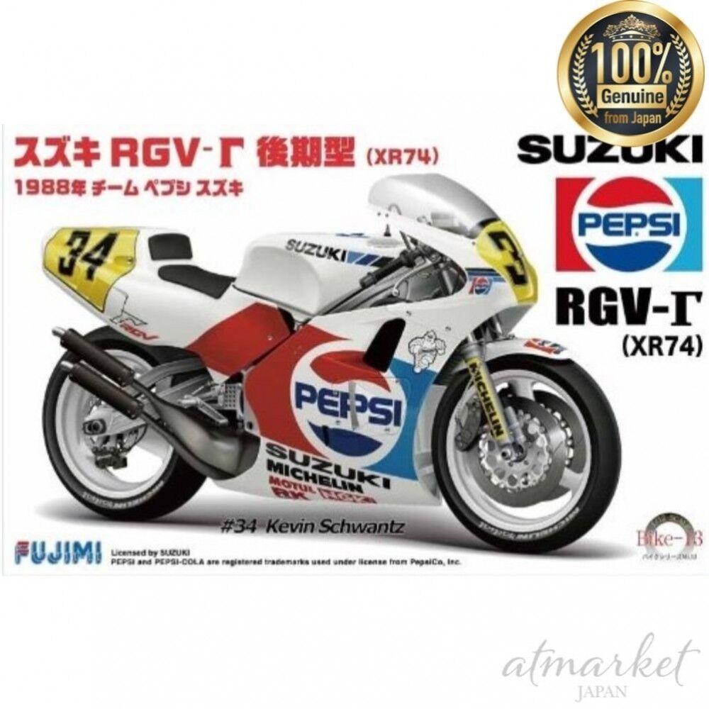 Fujimi Plastic model No.13 1 12 Bike Series Suzuki RGV-Late Type XR74 from JAPAN